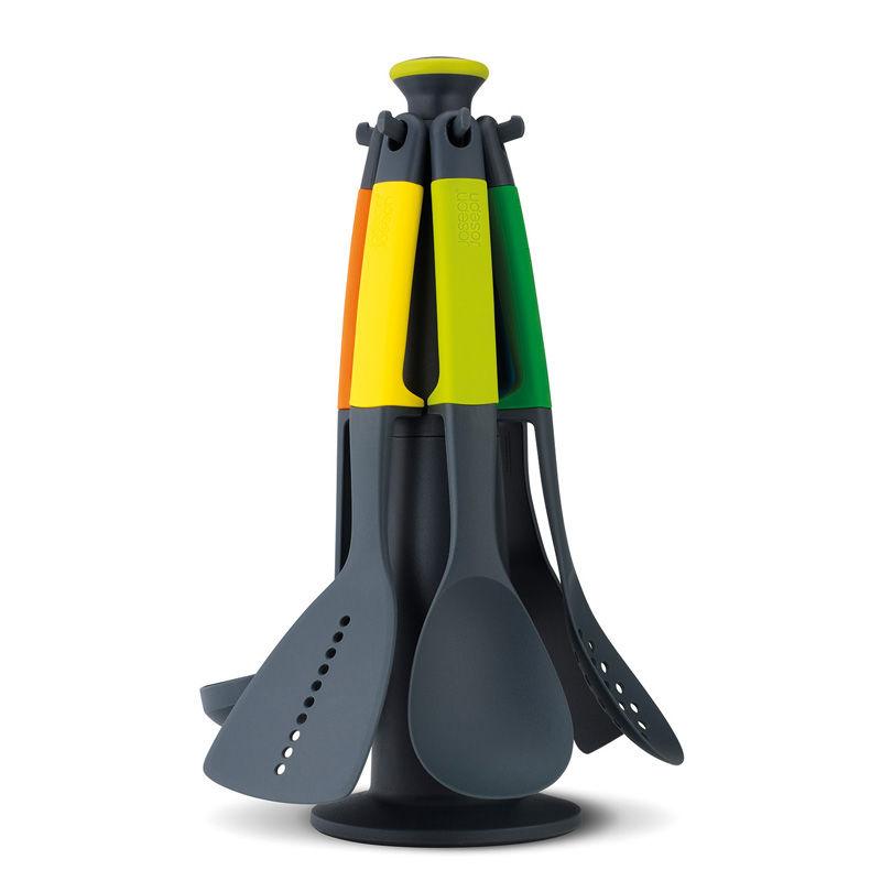 Joseph Joseph - Elevate - zestaw narzędzi z karuzelą - 6 narzędzi + stojak