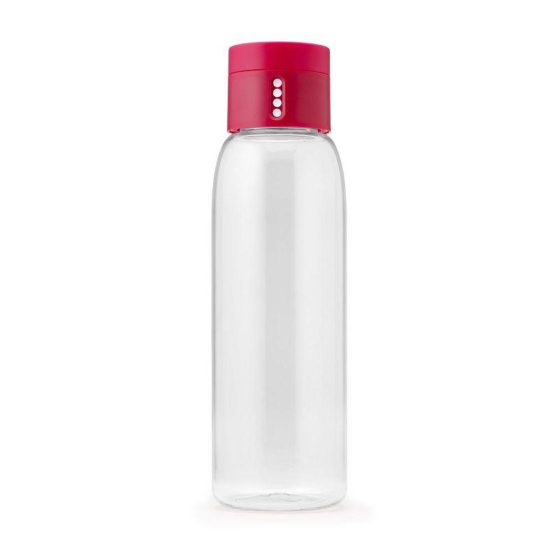 Joseph Joseph - Dot - butelka na wodę ze wskaźnikiem kontrolującym spożycie wody - pojemność: 0,6 l