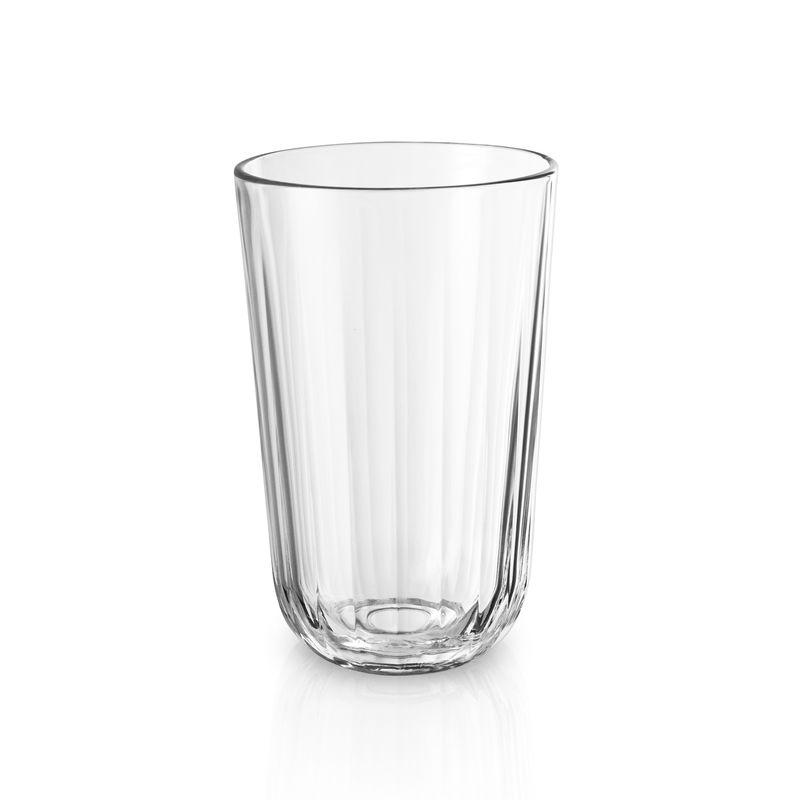 Eva Solo - Facet - 4 wysokie szklanki - pojemność: 0,43 l
