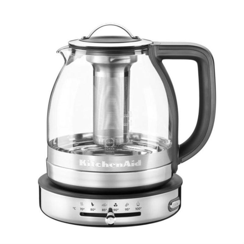 KitchenAid - Artisan - czajnik elektryczny z zaparzaczem - pojemność: 1,5 l