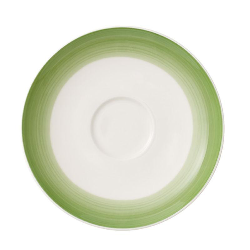 Villeroy & Boch - Colourful Life Green Apple - spodek do filiżanki do kawy - średnica: 14 cm