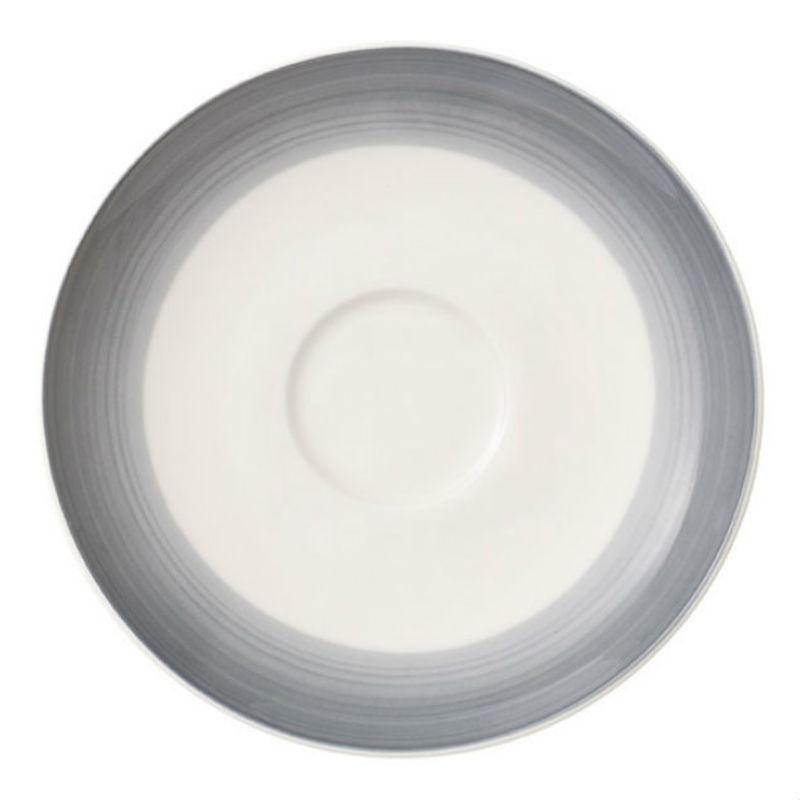 Villeroy & Boch - Colourful Life Cosy Grey - spodek do filiżanki do kawy - średnica: 14 cm