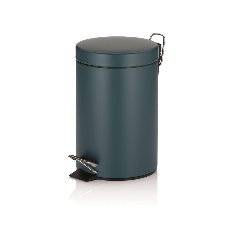 Kela - Teal - mały kosz na śmieci - 3 l