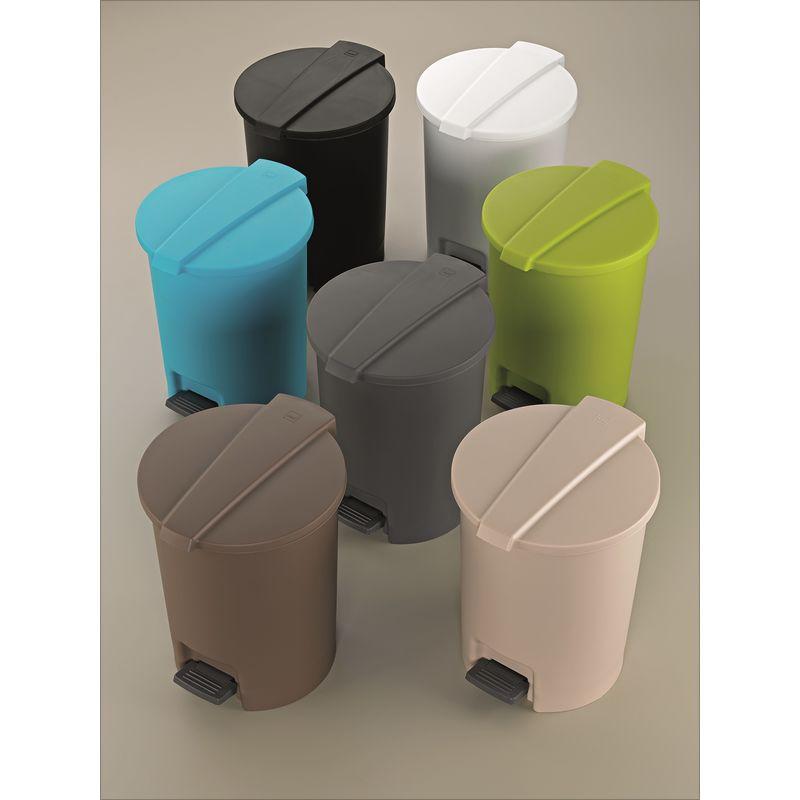 Kela - Marc - łazienkowe kosze na śmieci - pojemność: 6,5 l; wysokość: 28,5 cm