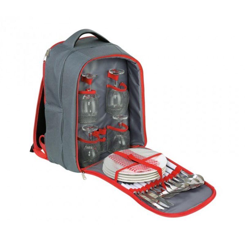 Cilio - Garda - termiczny plecak piknikowy z wyposażeniem - dla 4 osób
