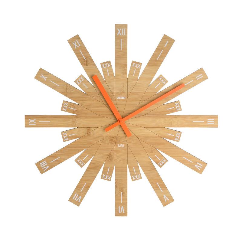 Alessi - Raggiante - zegar ścienny - średnica: 48 cm