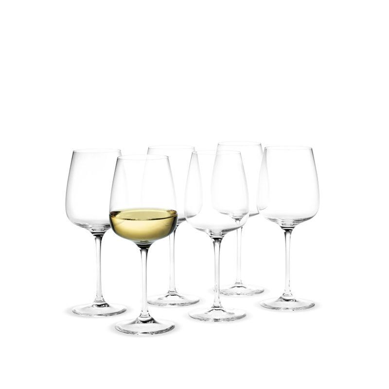 Holmegaard - Bouquet - 6 kieliszków do białego wina - pojemność: 0,32 l