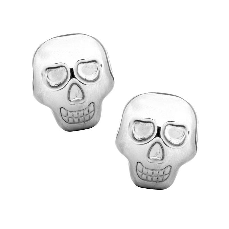 Sagaform - Club - 2 stalowe czaszki chłodzące - wymiary: 5 x 4,2 x 3,6 cm