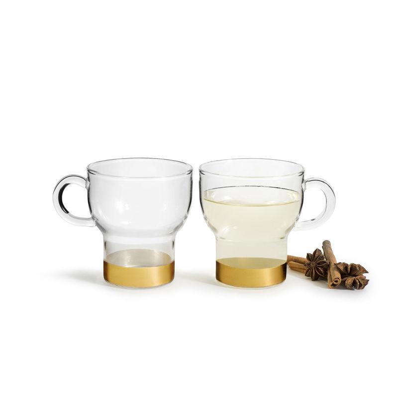 Sagaform - Winter - 2 szklanki do grzanego wina - pojemność: 0,15 ml