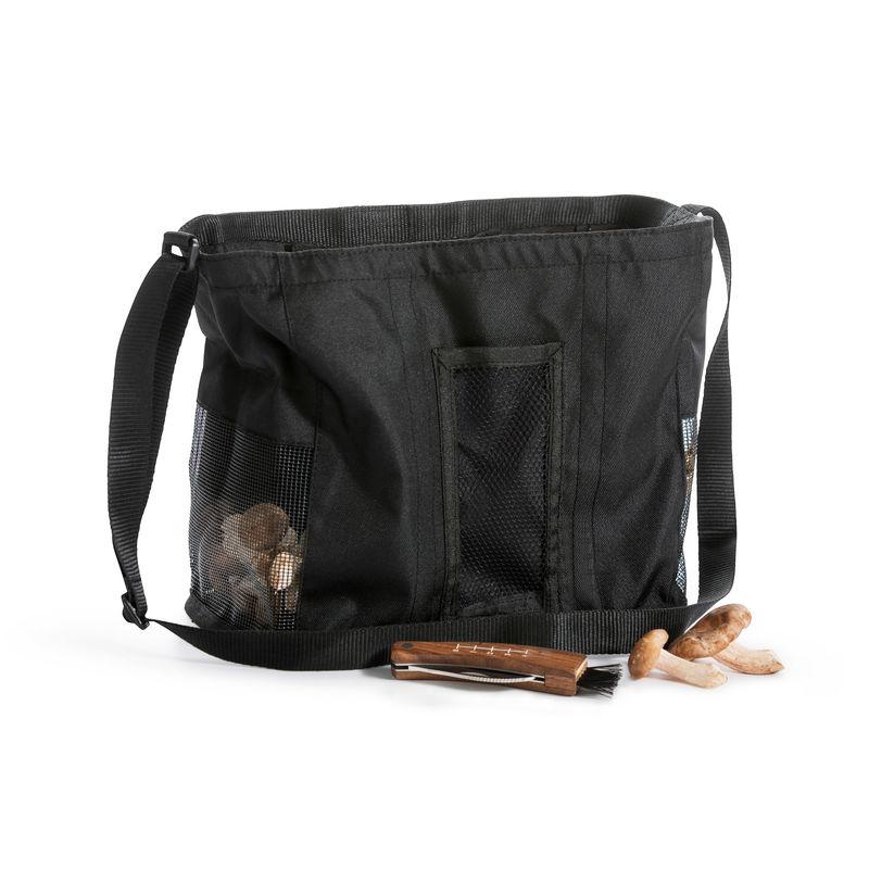 Sagaform - Outdoor - nóż i torba do zbierania grzybów - wymiary: 26,5 x 15 x 24,5 cm