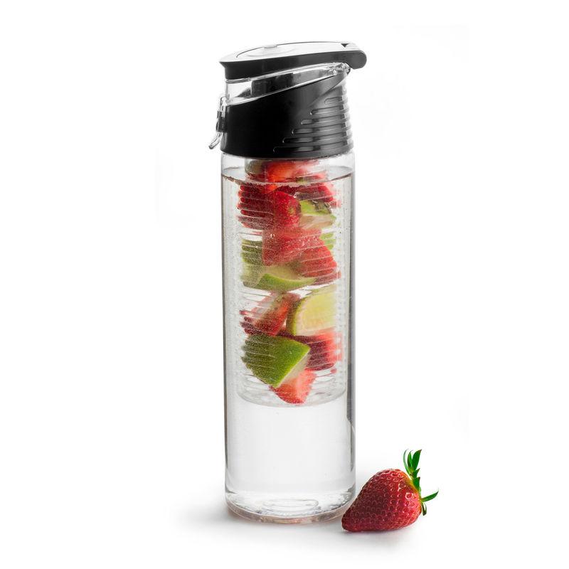 Sagaform - To Go - bidon z wkładem na owoce lub lód - pojemność: 0,75 l