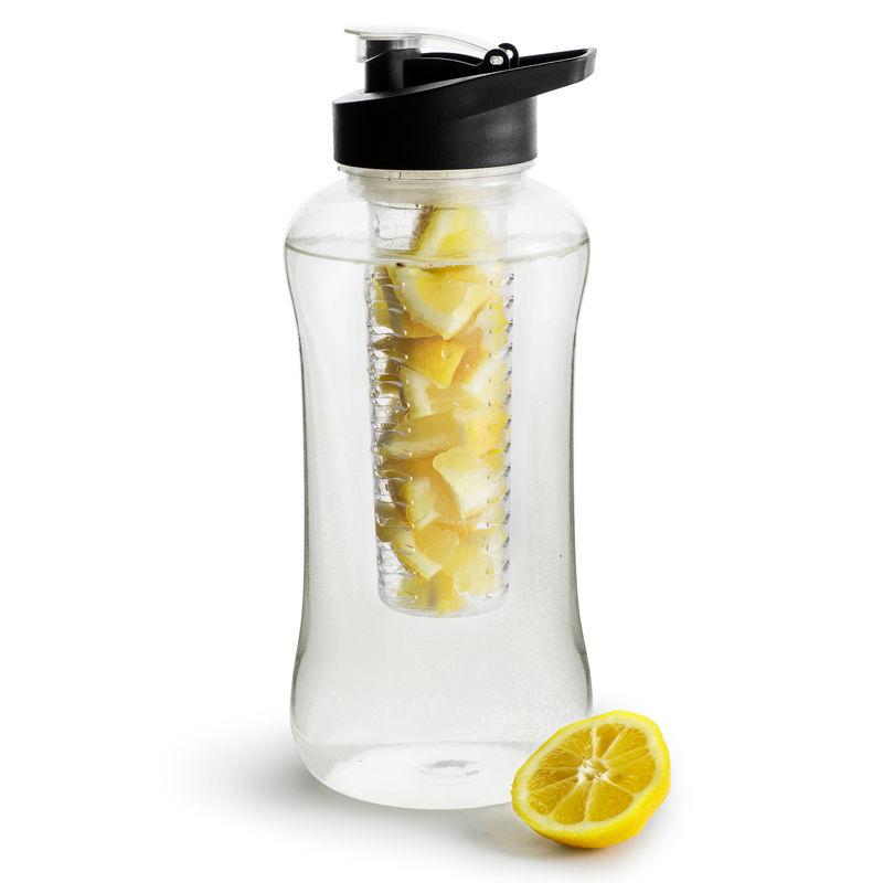 Sagaform - To Go - duży bidon z wkładem na owoce lub lód - pojemność: 1,8 l