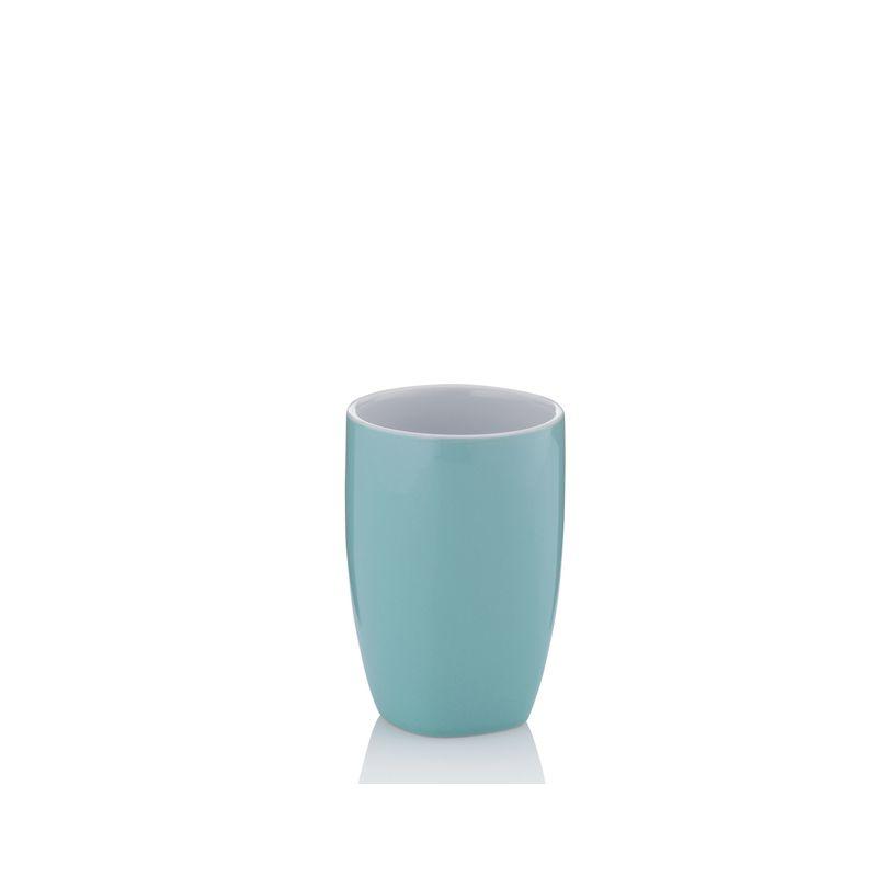 Kela - Lindano - kubek łazienkowy - wysokość: 10,5 cm