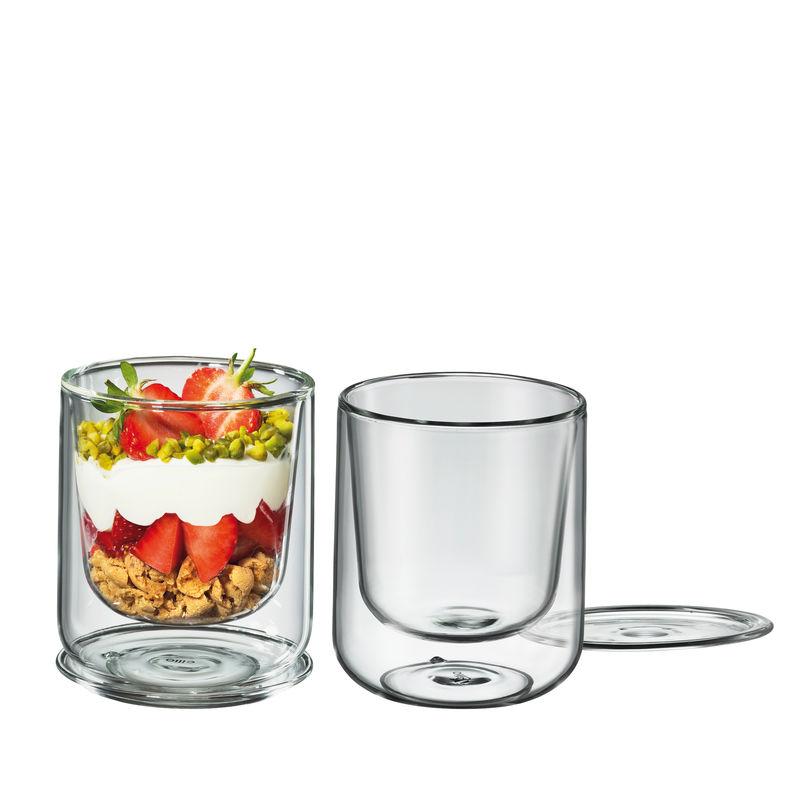 Cilio - 2 szklanki o podwójnych ściankach - pojemność: 0,25 l