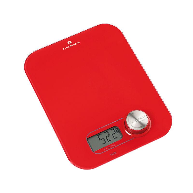 Zassenhaus - Eco Energy - cyfrowa waga kuchenna na dynamo - wymiary: 19 x 24,5 x 3,5 cm