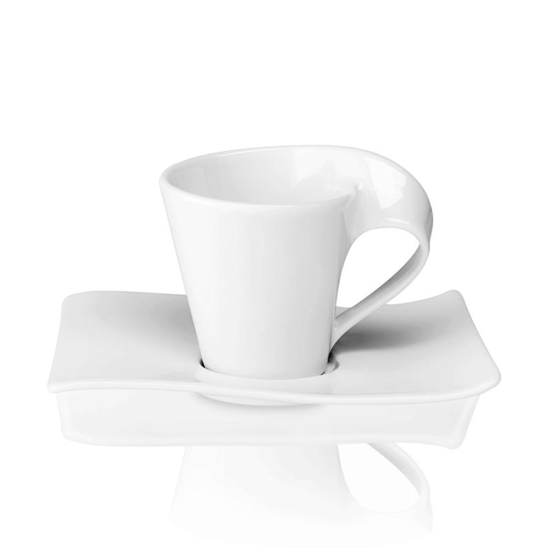 Villeroy & Boch - New Wave - filiżanka do espresso ze spodkiem - pojemność: 0,08 l
