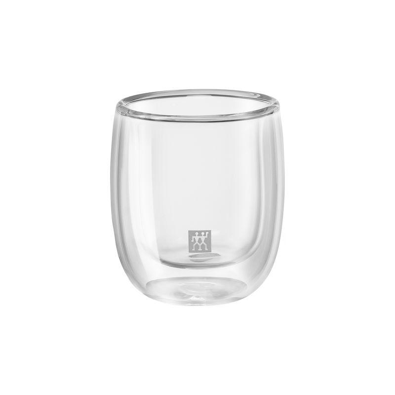 Zwilling - Sorrento - 2 szklanki do espresso o podwójnych ściankach - pojemność: 0,08 l