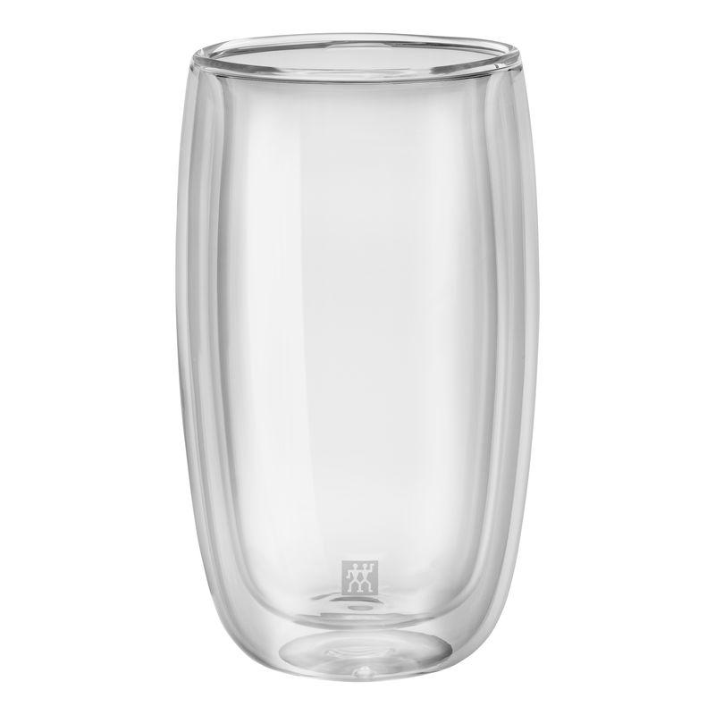 Zwilling - Sorrento - 2 szklanki do latte macchiato o podwójnych ściankach - pojemność: 0,35 l