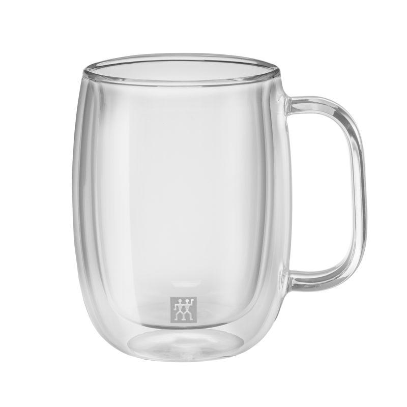 Zwilling - Sorrento Plus - 2 szklanki do kawy o podwójnych ściankach - pojemność: 0,35 l