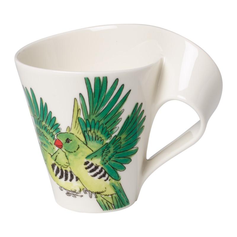 Villeroy & Boch - New Wave Caffe Green Munia - kubek - pojemność: 0,3 l