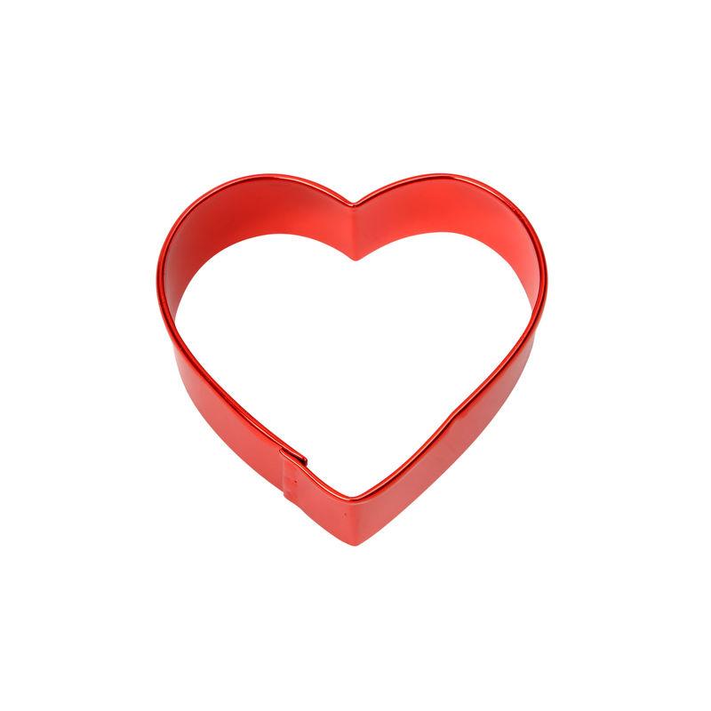 Dexam - wykrawacz do ciastek - serce - wymiary: 7,5 x 7,5 cm