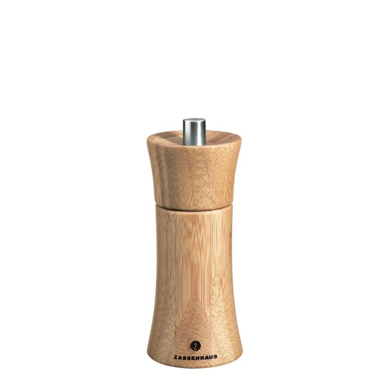 Zassenhaus - Frankfurt - bambusowy młynek do soli - wysokość: 14 cm