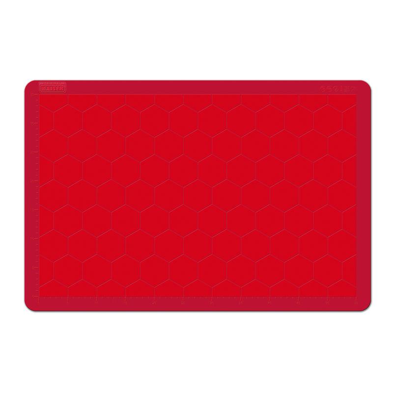 Kaiser - KAISERflex Red - silikonowa stolnica - wymiary: 60 x 40 cm