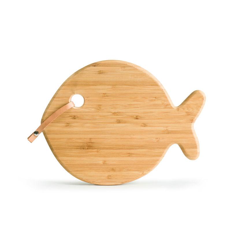 Sagaform - Seafood - bambusowa deska do serwowania - ryba - wymiary: 31 x 26 cm