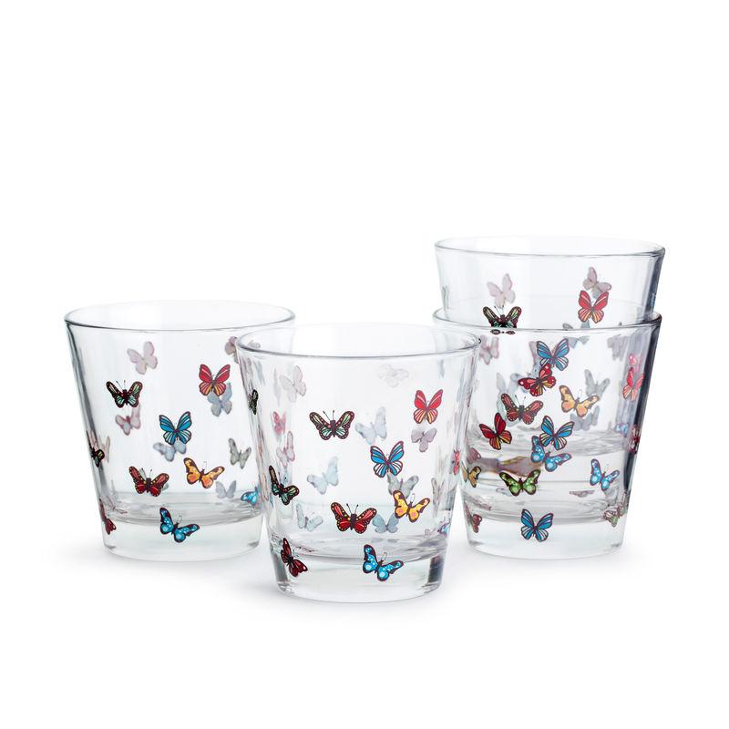 Sagaform - Butterfly - 4 szklanki - pojemność: 0,2 l