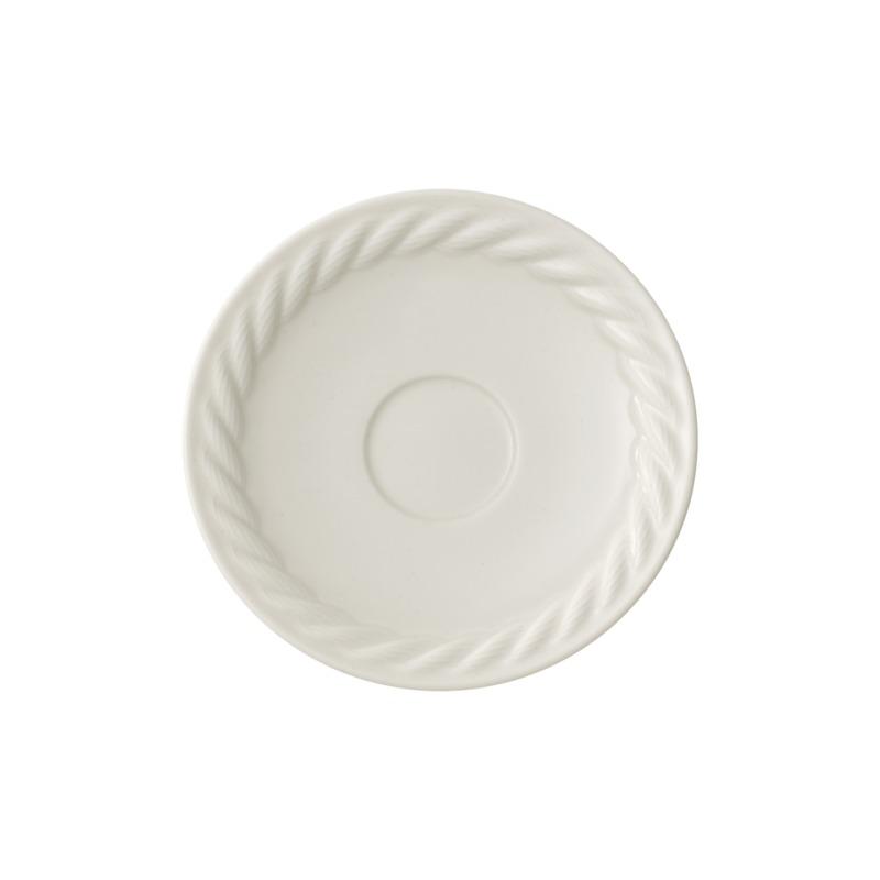 Villeroy & Boch - Montauk - spodek do filiżanki do espresso - średnica: 12 cm