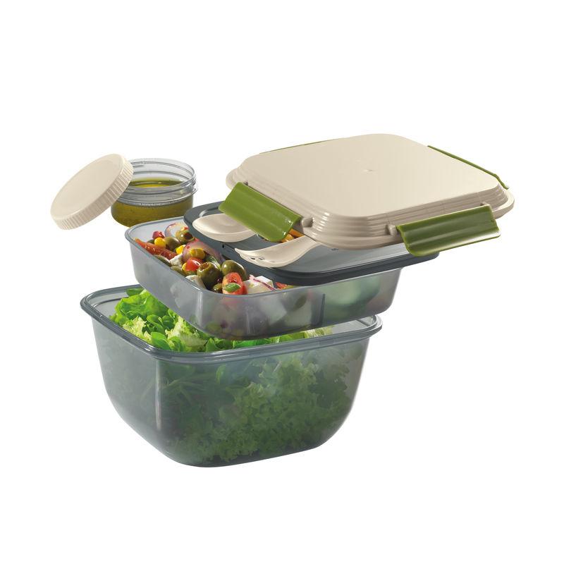 Cilio - Fresh - pojemnik na lunch z wkładem chłodzącym - pojemność: 1,5 l