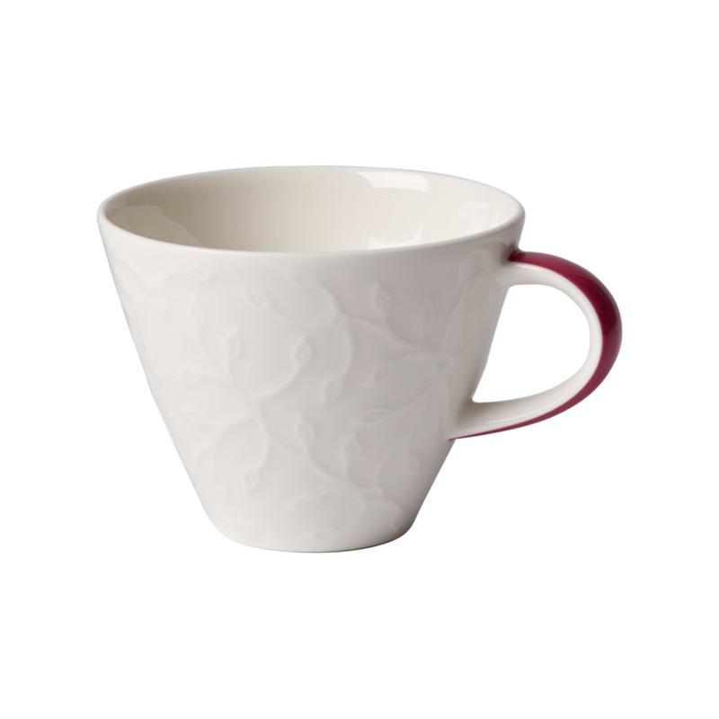 Villeroy & Boch - Caffé Club Floral Touch of Rose - filiżanka do kawy - pojemność: 0,22 l