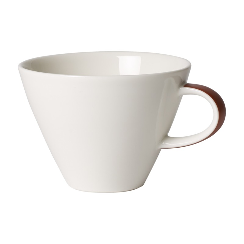Villeroy & Boch - Caffé Club Uni Oak - filiżanka do białej kawy - pojemność: 0,39 l
