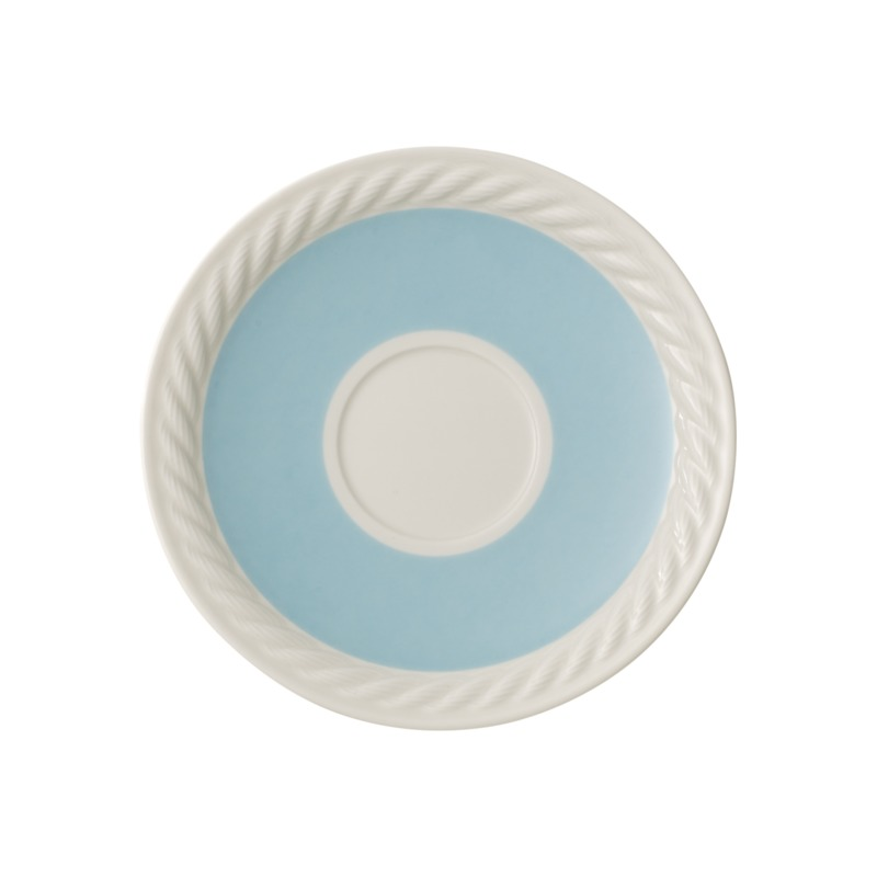 Villeroy & Boch - Montauk Beachside - spodek do filiżanki do kawy - średnica: 16 cm