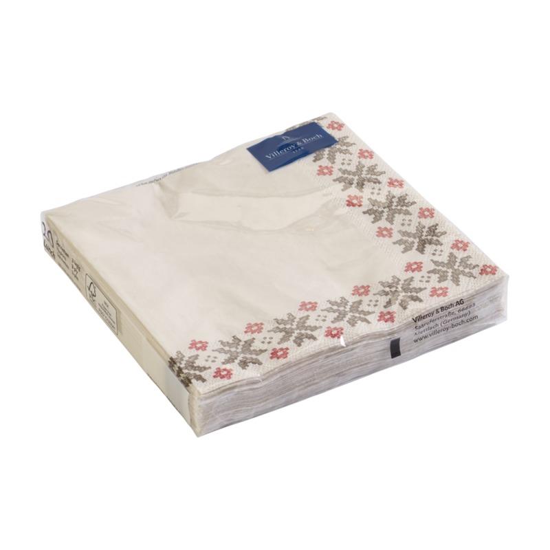 Villeroy & Boch - Artesano Montagne - serwetki papierowe - wymiary: 33 x 33 cm