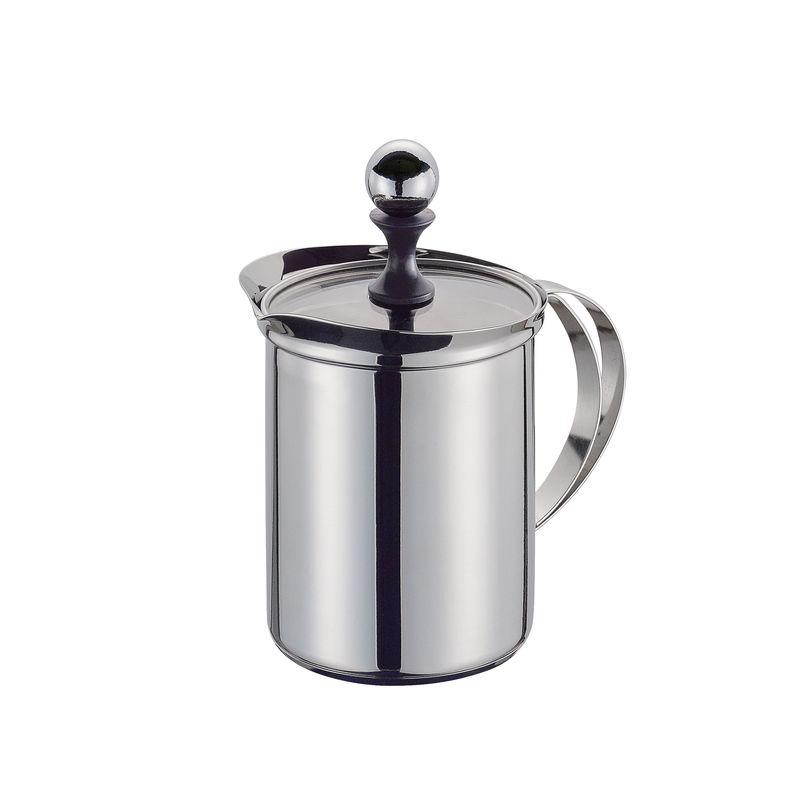 Cilio - Deluxe - stalowy spieniacz do mleka - pojemność: 6 filiżanek