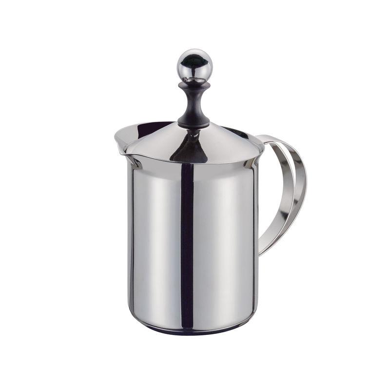 Cilio - Classic - stalowy spieniacz do mleka - pojemność: 6 filiżanek