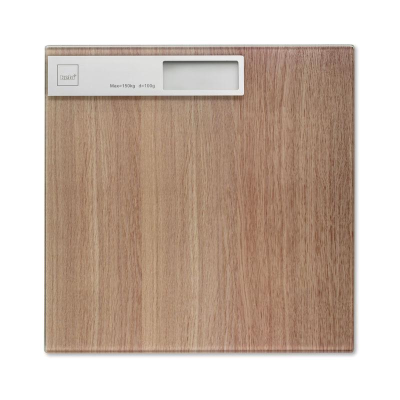 Kela - Oak - waga łazienkowa - wymiary: 30 x 30 cm