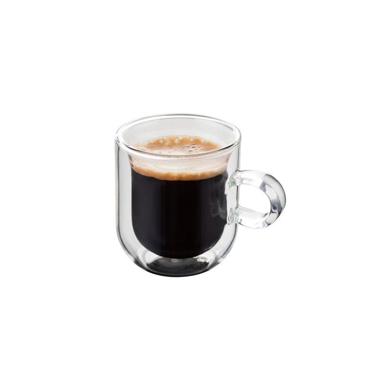 Judge - 2 filiżanki do espresso o podwójnych ściankach - pojemność: 75 ml