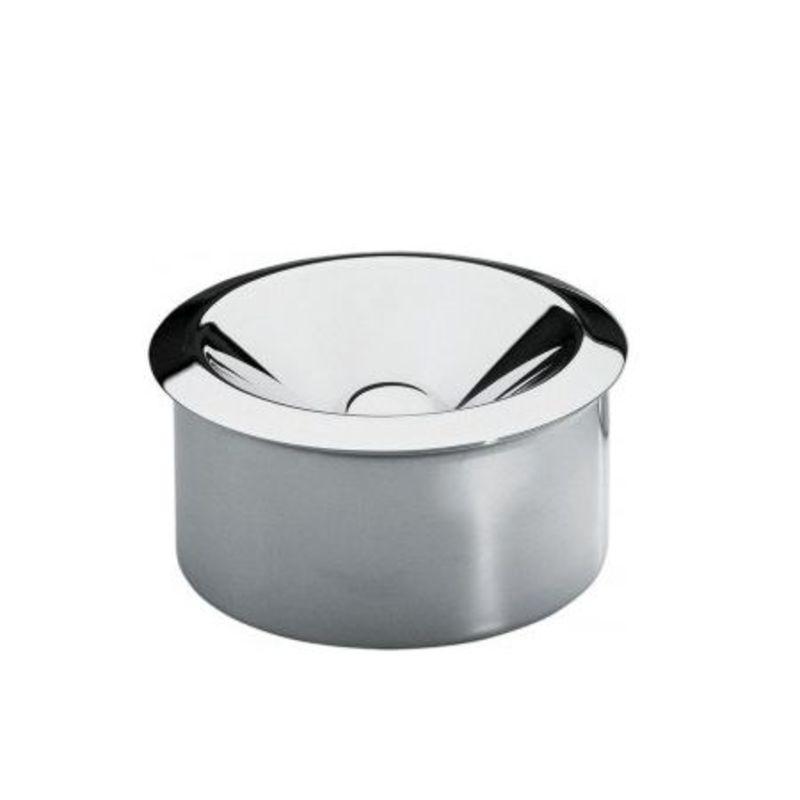 Officina Alessi - popielniczka stalowa - średnica: 11 cm