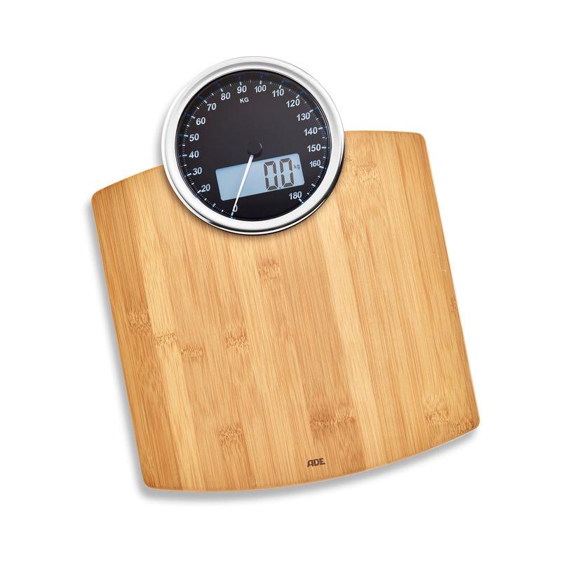 ADE - Luna - elektroniczna waga łazienkowa - wymiary: 31,5 x 40,5 cm
