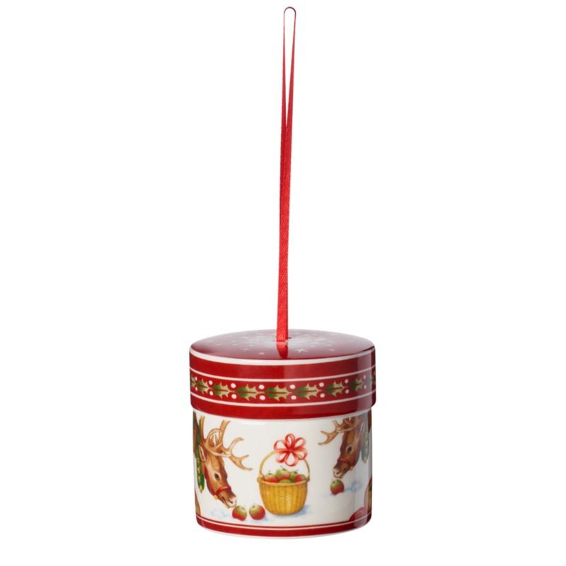 Villeroy & Boch - My Christmas Tree - zawieszka pudełko - wysokość: 7 cm