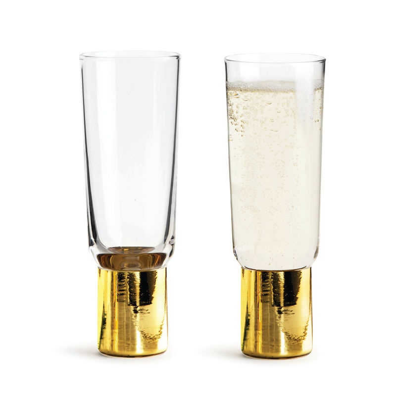 Sagaform - Club - 2 kieliszki do szampana - pojemność: 0,2 l; pudełko prezentowe