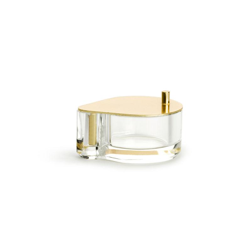 Sagaform - Swing - świecznik na tealight - wymiary: 7,5 x 6,5 x 3,5 cm