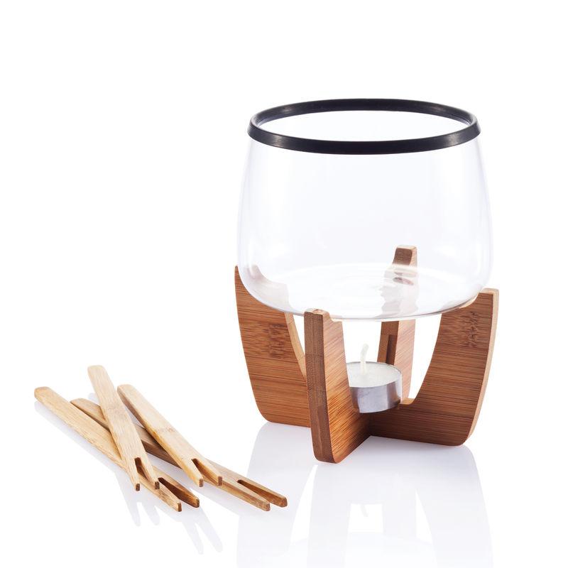 XD Design - Cocoa - zestaw do fondue czekoladowego - 6 elementów