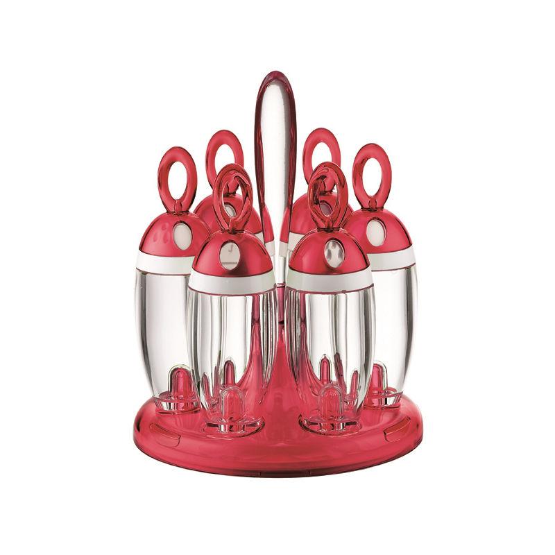 Guzzini - Kitchen Active Design - obrotowy stojak na przyprawy - na 6 przypraw