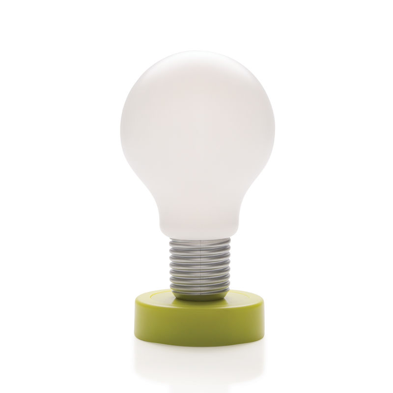 XD Design - Push - lampka nocna - wysokość: 16,5 cm