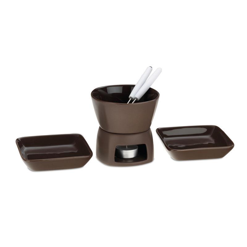 Kela - Pablo - zestaw do fondue czekoladowego - 6 elementów