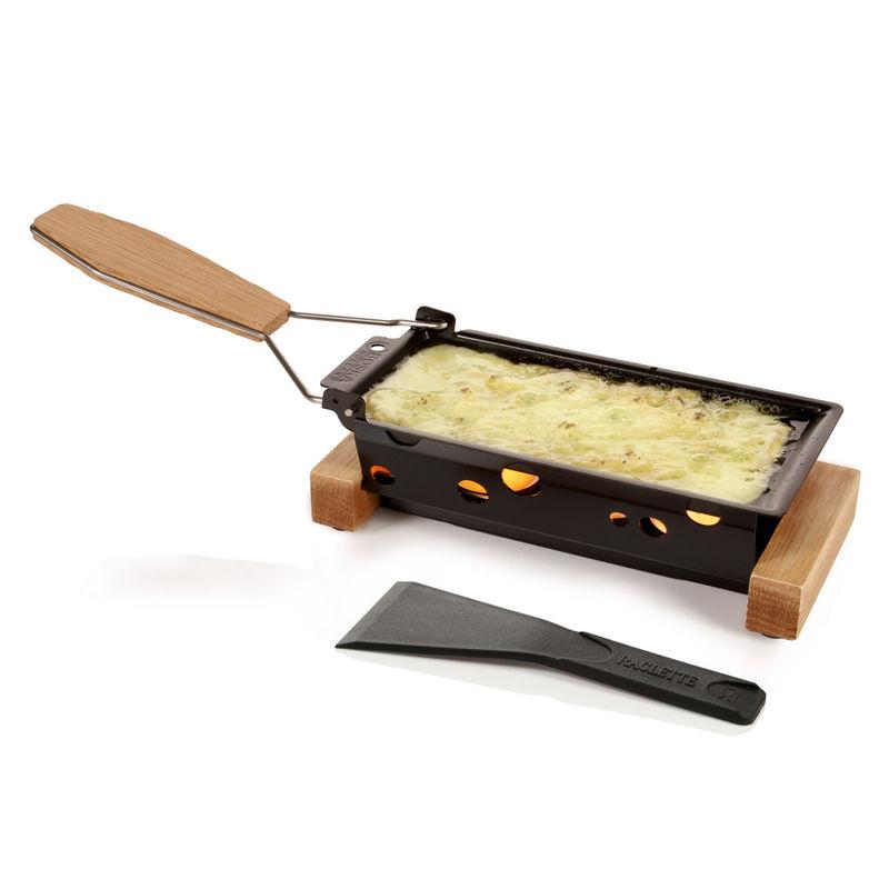 Boska - Partyclette ToGo - mini zestaw do raclette - wymiary patelni: 18 x 8,5 cm