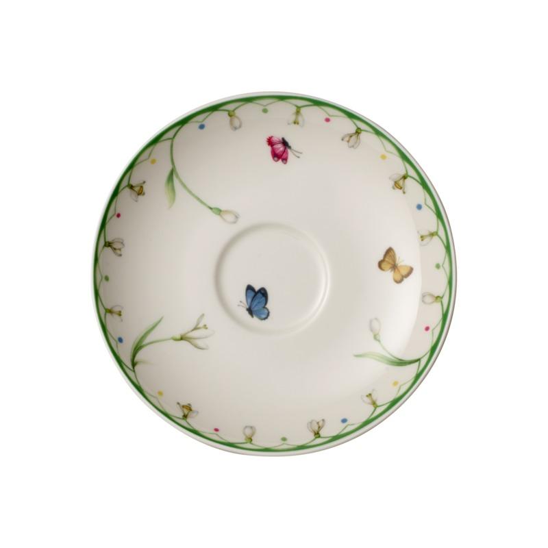 Villeroy & Boch - Colourful Spring - spodek do filiżanki do kawy - średnica: 14 cm